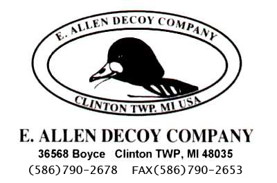 E. Allen Decoys