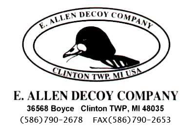 E. Allen Decoys
